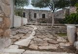 Courtyard of the monastery of Agios Ioannis