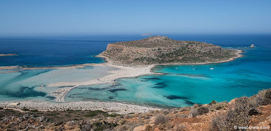 The bay of Balos